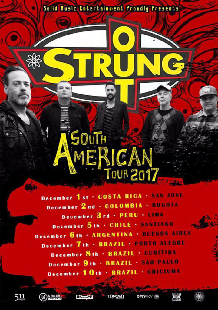 ¡Por fin Strung Out en Colombia!