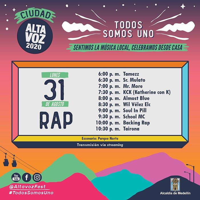 ciudad altavoz 31 rap